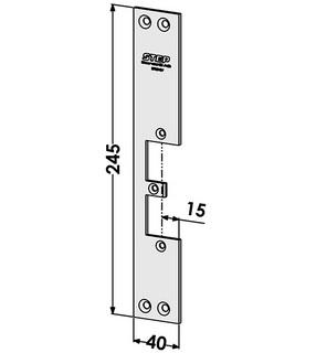 Monteringsstolpe ST9515V Vänster