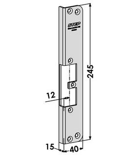 Monteringsstolpe ST9536H Höger