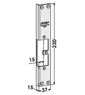 Monteringsstolpe ST9541H Höger