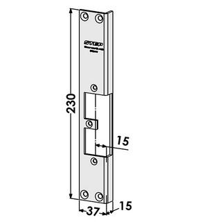 Monteringsstolpe ST9541V Vänster