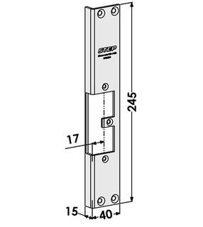 Monteringsstolpe ST9550H Höger