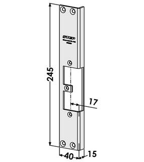 Monteringsstolpe ST9550V Vänster