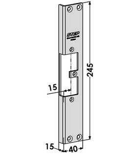 Monteringsstolpe ST9560H Höger