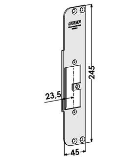 Monteringsstolpe ST9563H Höger