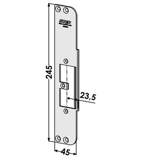 Monteringsstolpe ST9563V Vänster