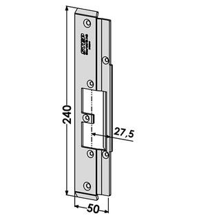 Monteringsstolpe ST9551V Vänster