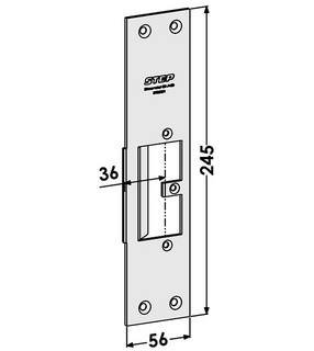 Monteringsstolpe ST9555H Höger