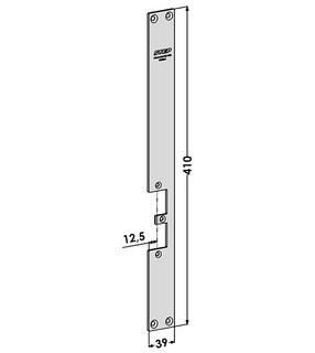 Monteringsstolpe ST9569H Höger