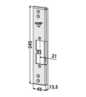 Monteringsstolpe ST9593V Vänster