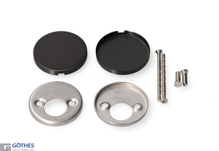 Täckskylt Basics LBB310 PVD        Gunmetal