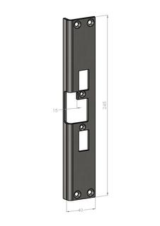 Monteringsstolpe SA82-V Vänster