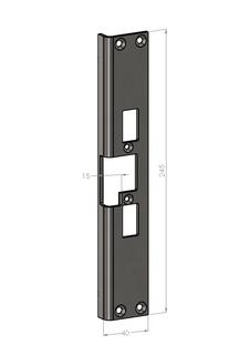 Monteringsstolpe SA82-H Höger