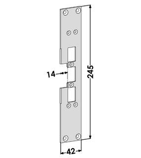 Monteringsstolpe ST6617