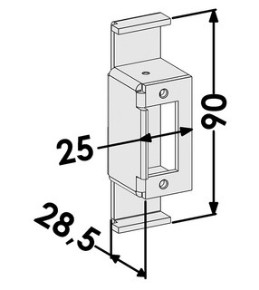 Mekaniskt Slutbleck ST4876