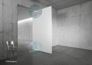 Pivotgångjärn Set System One       Rektangulär golvplatta Rostfri