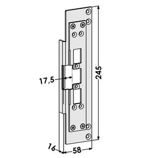 Monteringsstolpe ST6678