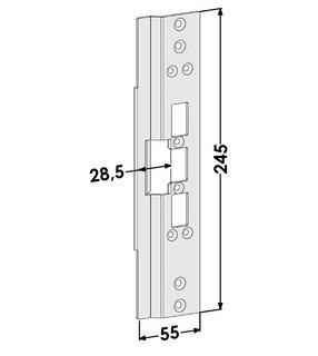 Monteringsstolpe ST6642