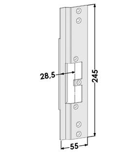 Monteringsstolpe ST9642H Höger