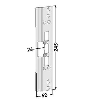 Monteringsstolpe ST6665