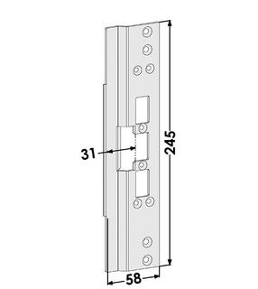 Monteringsstolpe ST6667