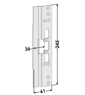 Monteringsstolpe ST6668
