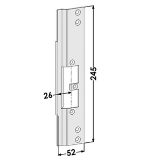 Monteringsstolpe ST9665H Höger