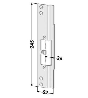 Monteringsstolpe ST9665V Vänster