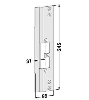 Monteringsstolpe ST9667H Höger