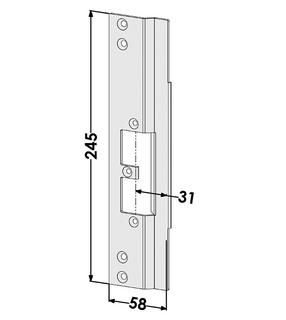 Monteringsstolpe ST9667V Vänster