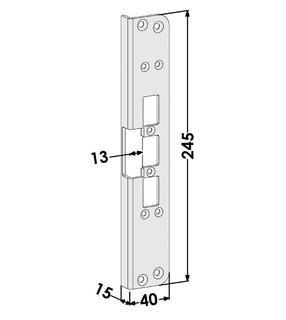 Monteringsstolpe ST6523