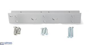 Vinkelkonsol 8357 Silver