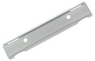 Gardinbeslag 420-H1 Väggskena Vit