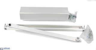 Dörrstängarsats TS93G 2-5 N med Standardglidskena Silver