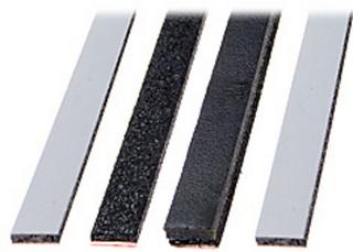 Brandtätningslist LSSK 2,5X10mm    L=1075mm Vit