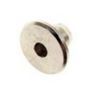 Möbelknopp Hattmutter M8 Brunoxid