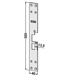 Monteringsstolpe ST183-A Vänster