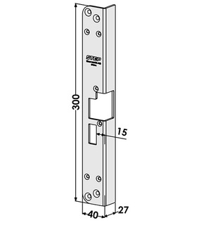 Monteringsstolpe ST184-A Vänster