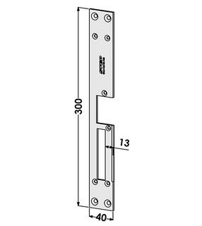 Monteringsstolpe ST185-A Vänster