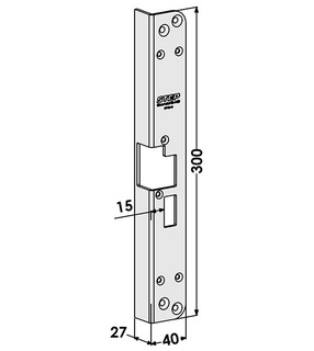 Monteringsstolpe ST184-B Höger
