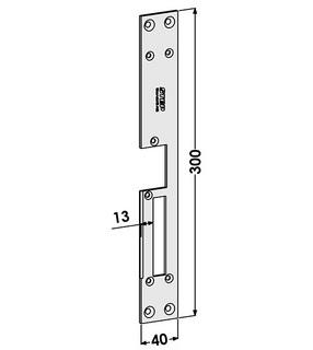 Monteringsstolpe ST185-B Höger