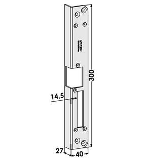 Monteringsstolpe ST186-B Höger