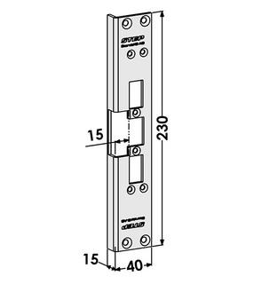 Monteringsstolpe ST6501