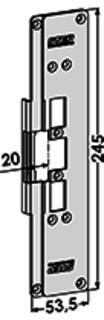 MONTERINGSSTOLPE ST6502 STEP
