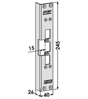 Monteringsstolpe ST6506
