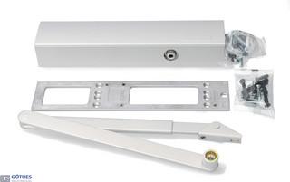 Dörrstängarsats TS4000S 1-6 med Standardarm Silver
