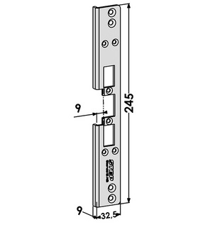 Monteringsstolpe ST6513