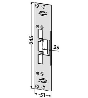 Monteringsstolpe ST6510