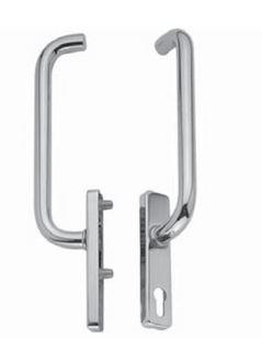 Handtag Drag Cylinder/Cylinder     Aluminium