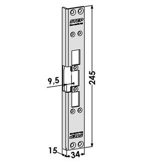 Monteringsstolpe ST6507