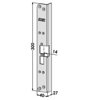 Monteringsstolpe ST6524